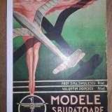 AEROMODELISM -MODELE SBURATOARE - SIMA SIMULESCU, CCA 1940