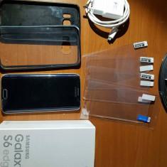 Samsung Galaxy S6 edge - Telefon Samsung, Negru, 32GB, Neblocat