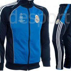 Trening REAL MADRID - Bluza si pantaloni conici - Modele noi - Pret Special 1248 - Trening barbati, Marime: M, Culoare: Din imagine