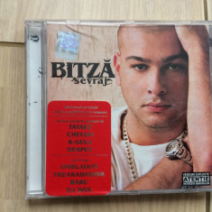 Bitza sevraj album cd disc 2004 muzica hip hop soul rebel music nrg!a