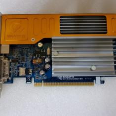 Placa video GIGABYTE GeForce 7300GS GV-NX73G256D-RH 256MB PCI-e - poze reale - Placa video PC Gigabyte, PCI Express, nVidia