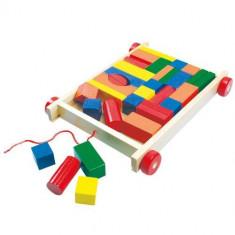 Cuburi Colorate Pentru Construit - Set de constructie Bino