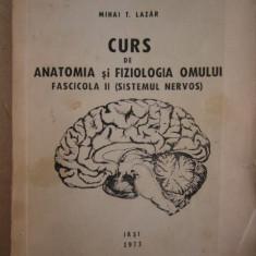 RWX 45 - CURS ANATOMIA SI FIZIOLOGIA OMULUI - SISTEMUL NERVOS - MIHAI LAZAR - 73 - Curs Medicina