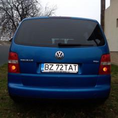 Vw touran 2005 rm.sarat, Motorina/Diesel, 243000 km, 1896 cmc