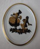 Frumoasa placheta din portelan german, Decorative
