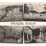 CPI (B9661 ) CARTE POSTALA - ORASUL STALIN - MOZAIC, RPR - Carte Postala Transilvania dupa 1918, Circulata, Fotografie