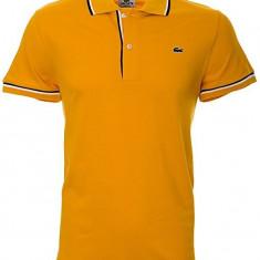 Mens Lacoste Polo shirt | PH9504 | 6/XL - Tricou barbati, Culoare: Galben, Maneca scurta, Bumbac