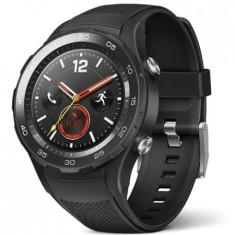 Smartwatch Huawei Watch 2 Carbon Black Sport Strap, Alte materiale
