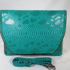Plic/geanta dama verde+CADOU, Culoare: Din imagine, Marime: Mare