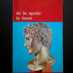 De la Apollo la Faust