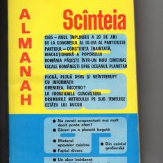 Almanah Scanteia 1986