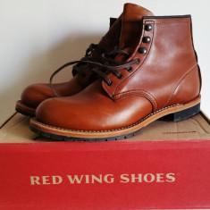 Red Wing Beckman 9016 Cigar - Ghete barbati, Marime: 43.5, Culoare: Maro