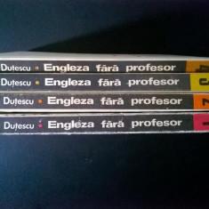 Dan Dutescu - Engleza fara profesor {4 volume} - Carte in engleza