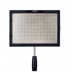 Yongnuo YN600S Lampa foto-video panou LED 600 LED-uri CRI 95 cu temperatura de culoare ajustabila 3200k-5500k - Lampa Camera Video