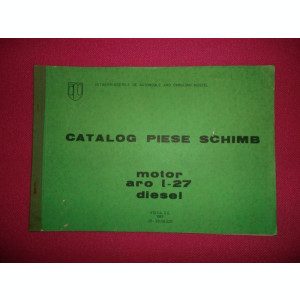 Catalog Piese Schimb,  Aro L-27