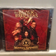 THE BLACK EYED PEAS - MONKEY BUSINESS (2005/A & M rec) - CD ORIGINAL/Sigilat/Nou - Muzica Pop