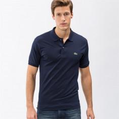Tricou Lacoste Polo 6/XL - Tricou barbati, Culoare: Bleumarin, Maneca scurta, Bumbac