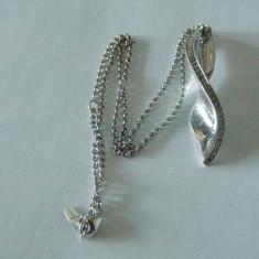 Lantisor si pandant argint cu zirconii -2542