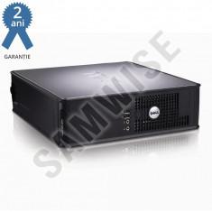 Calculator Dell 745 SFF, Intel Core 2 Quad Q6600 2.4GHz, 4GB DDR2, 160GB, fara optic