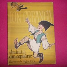 Amintiri din copilarie/ Ion Creanga (Eugen Taru -ilustratii) - Carte de povesti