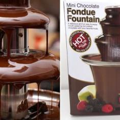 Mini fantana de ciocolata cu 3 nivele, ideala pentru orice ocazie