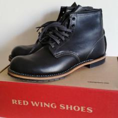 Red Wing Beckman 9014 Black - Ghete barbati, Marime: 43.5, Culoare: Negru