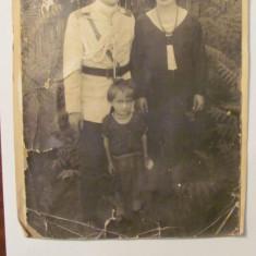 PVM - Fotografie foto veche familie ofiter roman