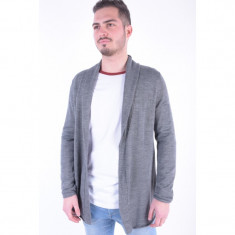 Cardigan Lana Selected Silas Gri - Pulover barbati Selected, Marime: L, XL