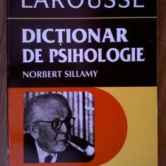 Norbert Sillamy – Dictionar de psihologie - Carte Psihologie