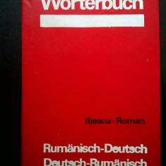 M. Iliescu, Al. Roman - Worterbuch Rumanisch-Deutsch / Deutsch-Rumanisch