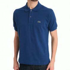 Tricou Lacoste Polo 100% original | 5/L - Tricou barbati, Marime: L, Culoare: Albastru, Maneca scurta, Bumbac
