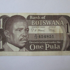 Botswana 1 Pula 1983 - bancnota africa