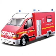 Masina Interventie Renault Master Pompieri - Masinuta Bburago