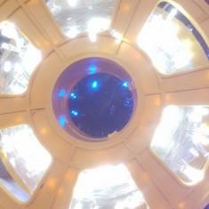 Pachet instalatie Craciun fir cu Leduri 100metri 1000Led sirag 8 jocuri ALB RECE - Instalatie electrica Craciun