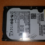 "18.HDD Laptop 2.5"" SATA 500 GB Western Digital 5400 RPM 8 MB, 500-999 GB"