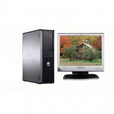 DELL 780 DESKTOP CORE2DUO E8400, 4 GB DDR3, HDD 250 GB CU LCD 17 INCH HP - Sisteme desktop cu monitor Dell, Intel Core 2 Duo, 2501-3000Mhz, 200-499 GB, LGA775
