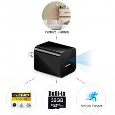 Cumpara ieftin Incarcator cu Camera Ascunsa Wi-Fi, 3 in 1 Video/Foto/Detectie miscare