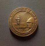 Medalie Centenarul independentei de stat a Romaniei