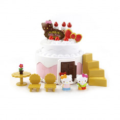 Set 2 in 1 Casuta Tort Aniversar Hello Kitty - Set Role Curea Distributie