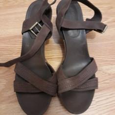Sandale TIMBERLAND piele naturala, nr 42 - Sandale dama Timberland, Culoare: Maro