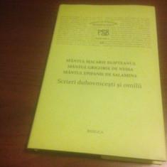 SF MACARIE, SF GRIGORIE DE NYSSA, SF EPIFANIE- SCRIERI DUHOVNICESTI, OMILII PSB-12 - Carti ortodoxe