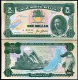 RARR :  NEW SOUTH WALES (AUSTRALIA)  = FANTASY NOTE =  1 DOLAR  2017  - UNC
