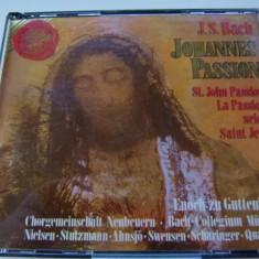 Bach - Johannes passion -Enoch zu Guttemberg -2 cd - Muzica Clasica rca records