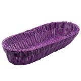 Cos pentru paine Kesper, 40 x 15 x 7 cm, Violet - Caserola