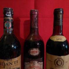 Din crama lui Ceausescu de la Predeal ! Lot 27 sticle vin italian de colectie ! - Vinde Colectie, Aroma: Sec, Sortiment: Rosu, Zona: Europa
