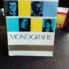 INSTITUTUL DE ARTA TEATRALA SI CINEMATOGRAFICA ION LUCA CARAGIALE, MONOGRAFIE - Carte Monografie