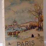 PARIS par ANDRE GEORGE, 1954 - Carte Geografie
