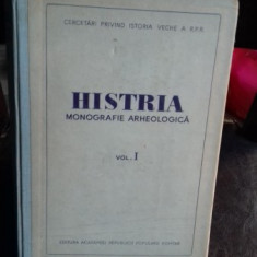 HISTRIA. MONOGRAFIE ARHEOLOGICA VOL.1 - Carte Monografie