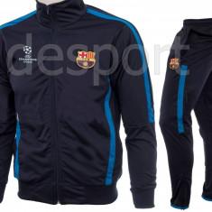 Trening gros pentru iarna FC BARCELONA - Bluza si pantaloni conici - 1249 - Trening barbati, Marime: S, M, L, XL, XXL, Culoare: Din imagine