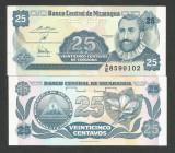 NICARAGUA   25  CENTAVOS  1991   UNC   [1]   P-170a.2  ,  necirculata